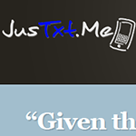 JusTxt.Me Website